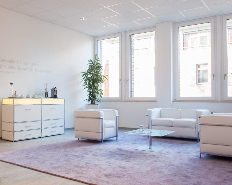 Gesundheitscheck Hamburg Lounge